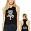 Thumbnail: CHICKY RACERBACK CROPPED TANK (LADIES) (BC6682)