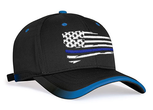 TL - RUNNERS CAP - WAVY FLAG - 4 Line Colors