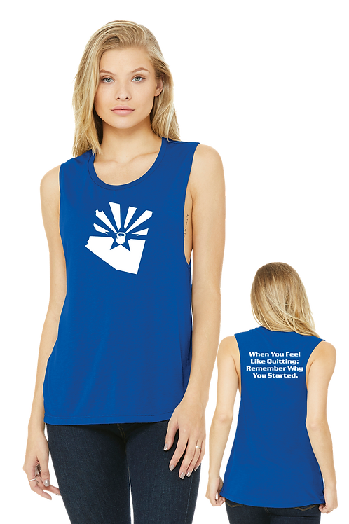 AZ FLOWY SCOOP TANK (LADIES) (BC8803)