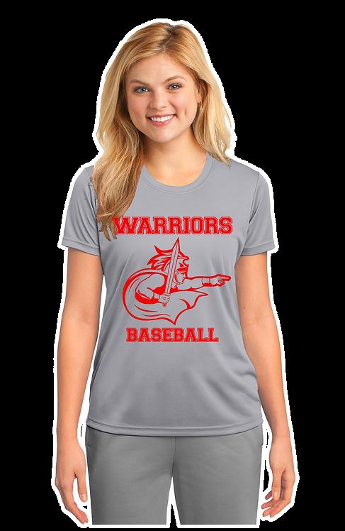 WARRIORS BASEBALL Dri-Fit Ladies Cut T-shirt (LPC380)