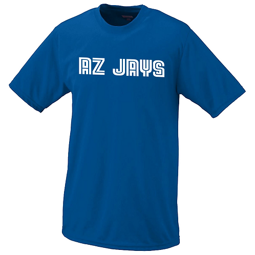 AZ JAYS- Youth Dri fit T-shirt (791-12)