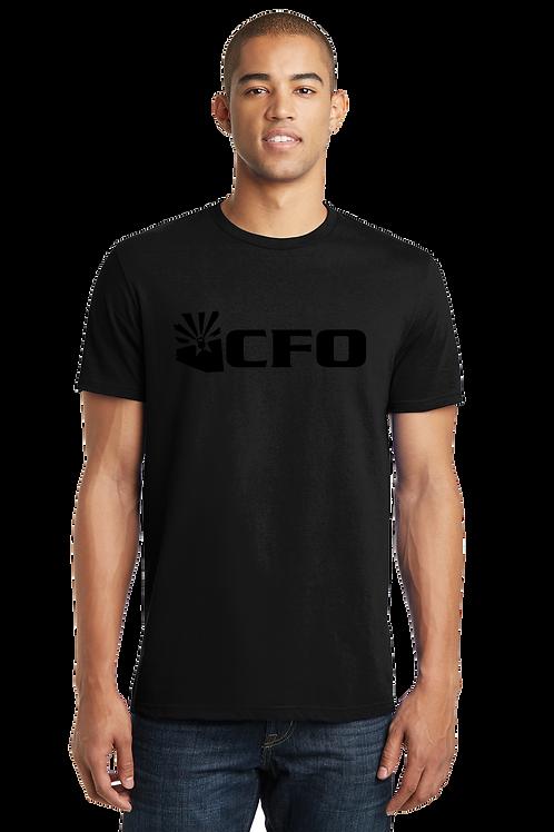 CFO SHADE ABBREVIATED LOGO TSHIRT (ADULT) (DT5000)