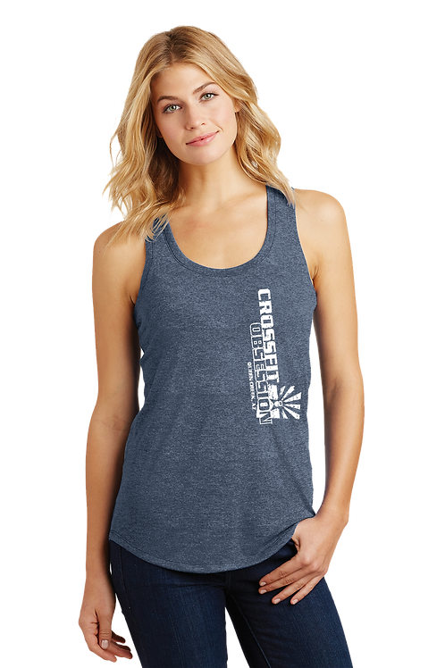 OBSESSION DOWN  RACER BACK TANK (LADIES) (DM138L)