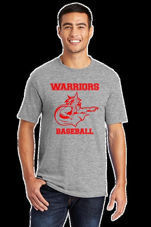 WARRIORS BASEBALL Basic T-shirt (Youth and Adult) (PC55_10)