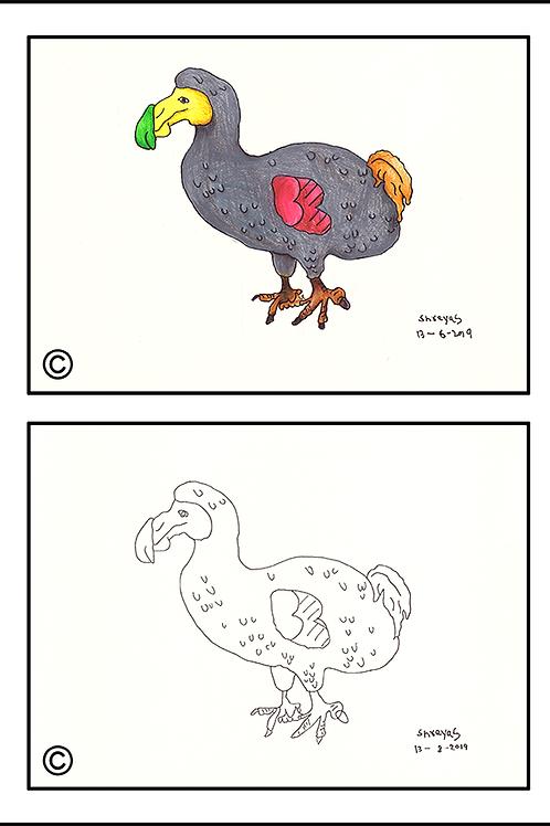 Multicolour Dodo