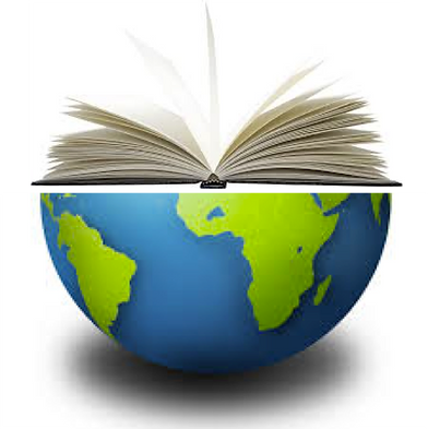 Earth with open book