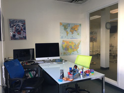 Individual work spaces