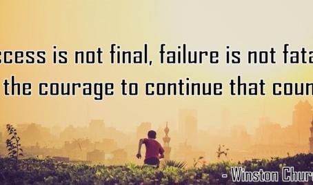 The Art of Failing Forward