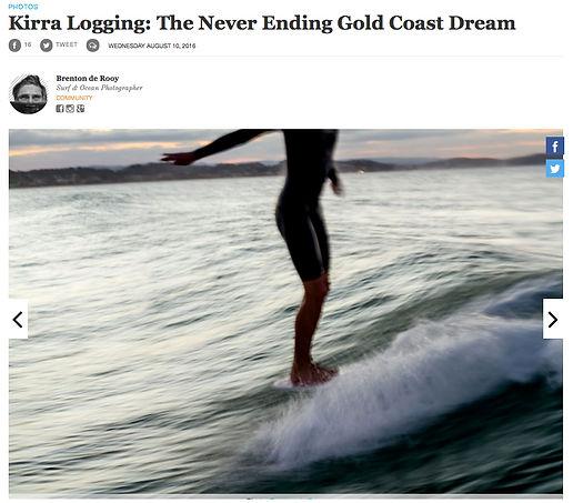 Longboarding Kirra Gold Coast x theinert