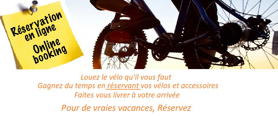 réservation vélo Arcachon, la teste de buch
