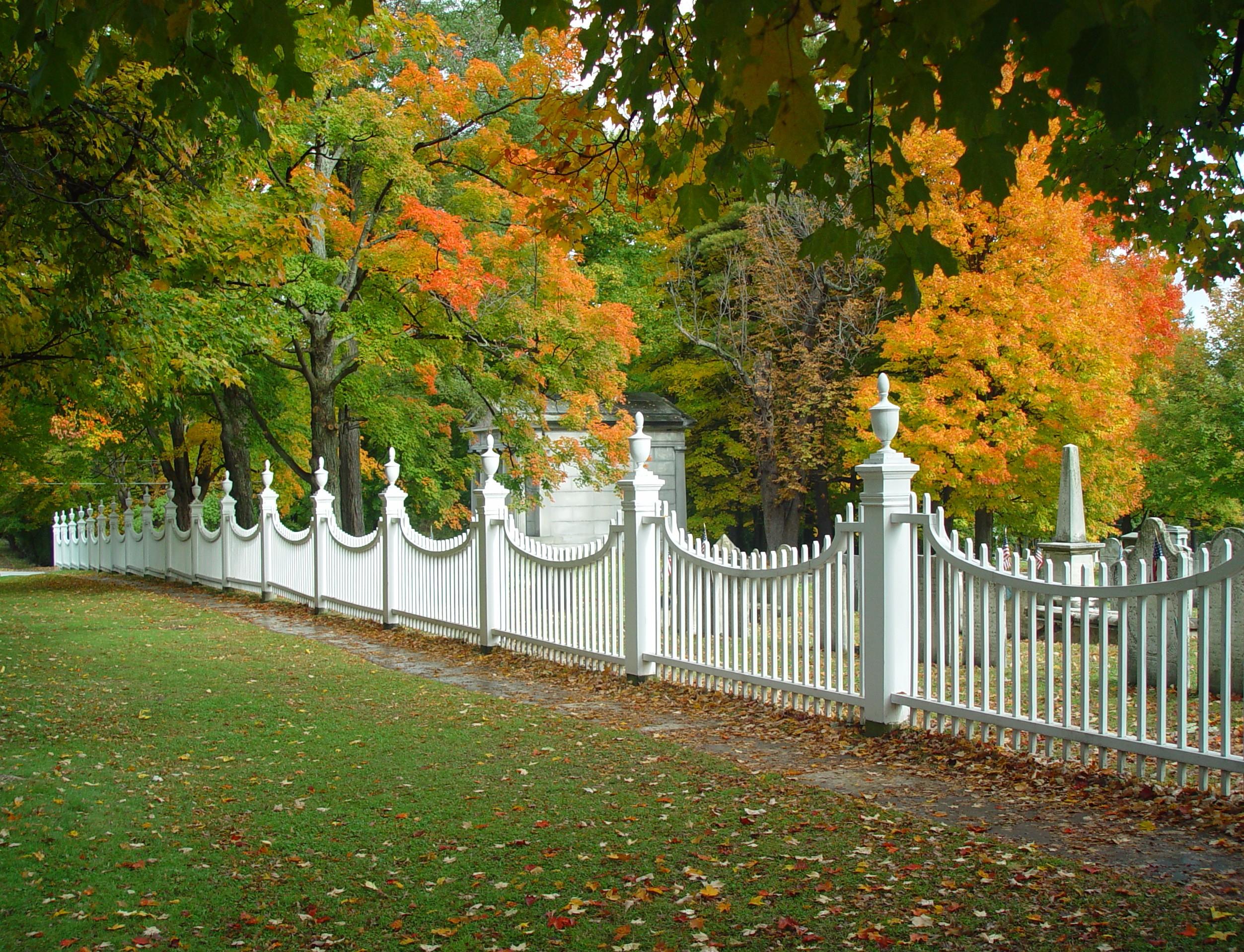 Fall Old Bennington