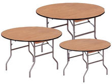 4' Round Wood Table Top