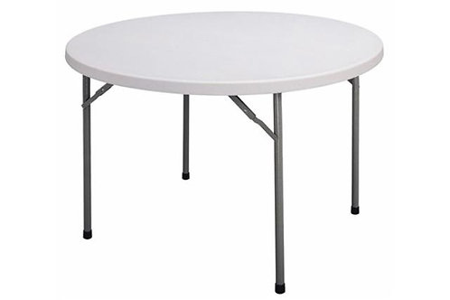 5' Round Plastic Top Table