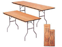 """8' x 30"""" Plywood Table"""