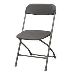 Charcoal Folding Chair