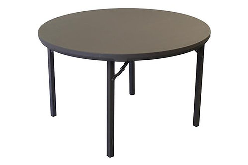 5' Round Premium Plastic Top Table