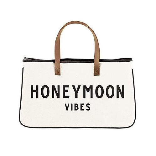 Canvas Tote - Honeymoon Vibes
