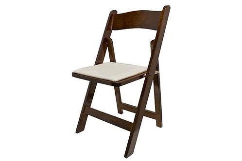 Walnut Folding Chair