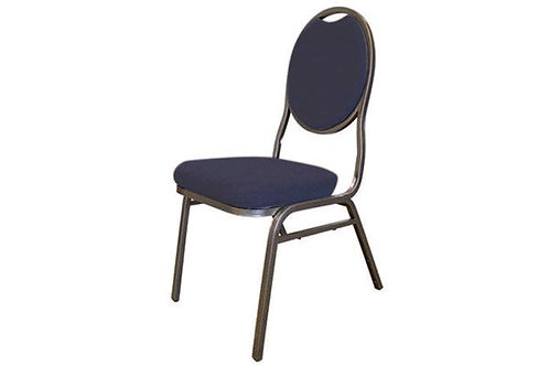 Navy Banquet Chair