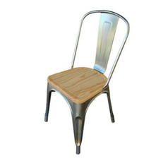 Wood Seat Axel Chair
