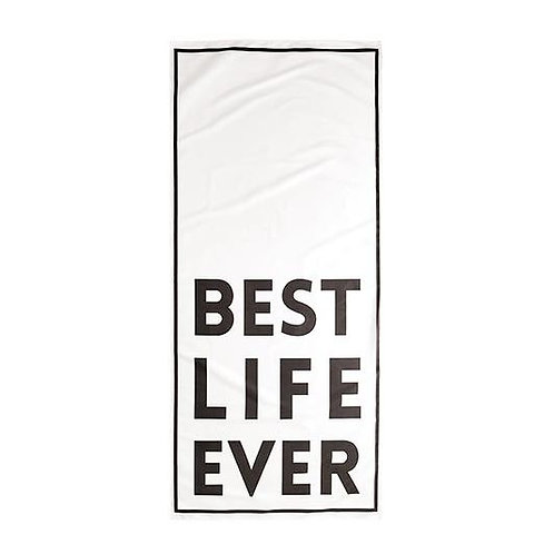 Quick Dry Oversized Beach Towel - Best Life Ever
