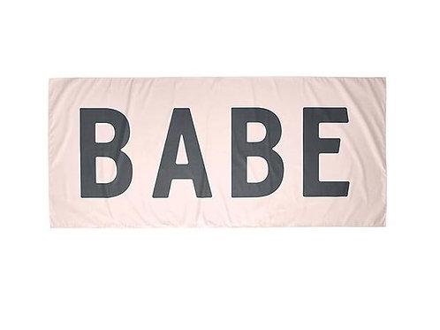 Quick Dry Oversized Beach Towel - Babe