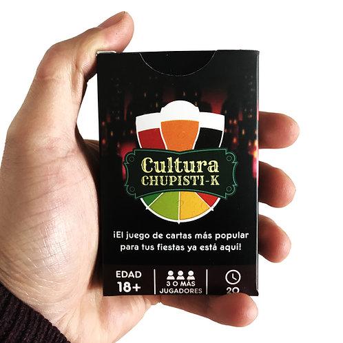 Cultura Chupisti-k / Juego de Cartas