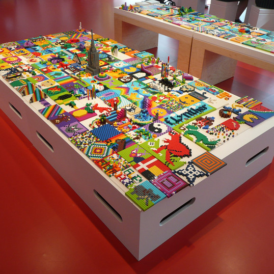 LEGO® House — Red Zone
