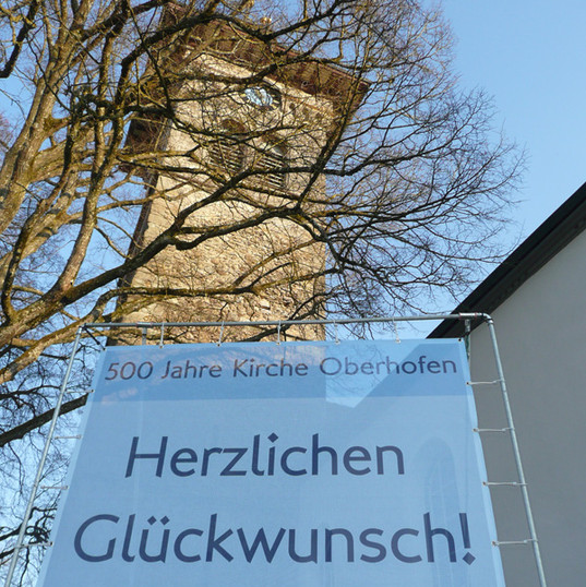 500 Jahre Kirche Oberhofen