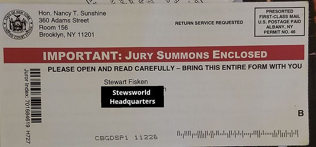 Jury Duty: An Unexpected Experience