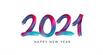 bonne-annee-2021-peinture-acrylique-nume