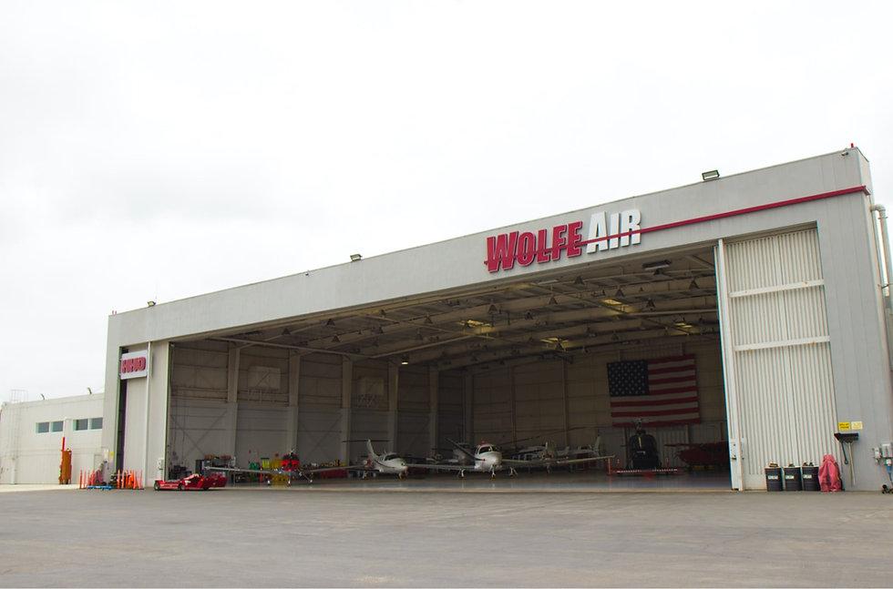Ampaire aircraft hangar in Camarillo, CA