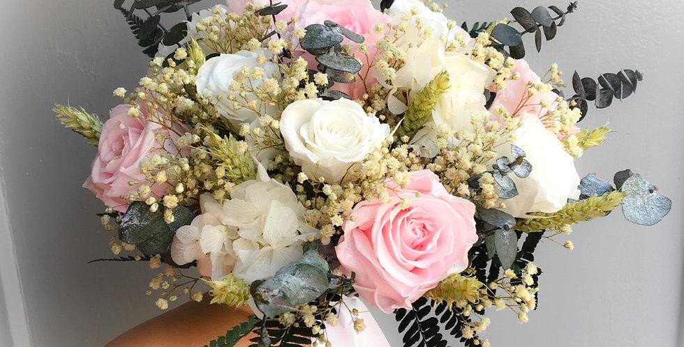 Bouquet de mariée Aster