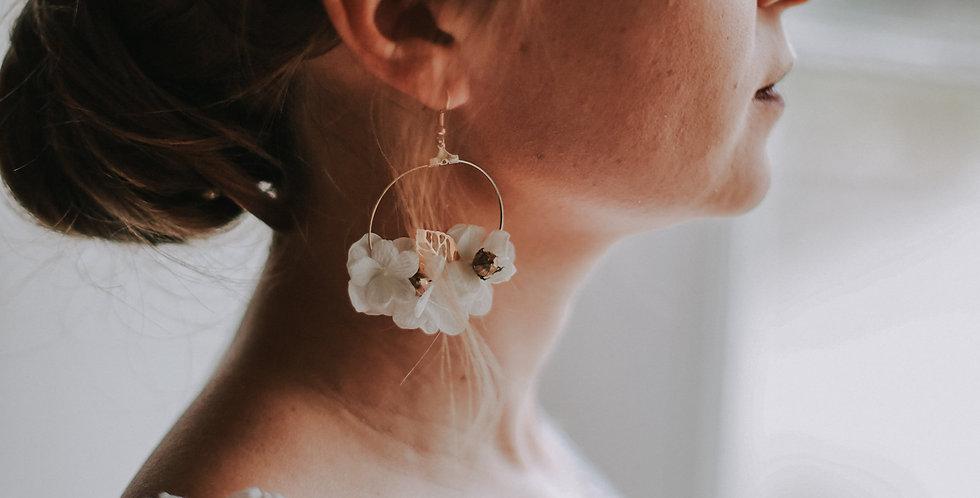 Boucles d'oreilles Arès de la collection Olympe