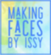 Making Faces by Issy Logo, Face Painting Logo