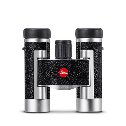 LEICA ULTRAVID 8x20 in LEATHERED SILVER