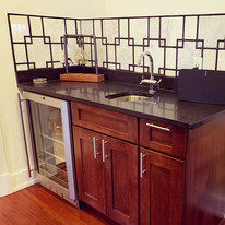 TGIF! This wet bar we recently installed