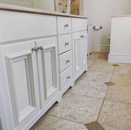 Bathroom Cabinet Painting
