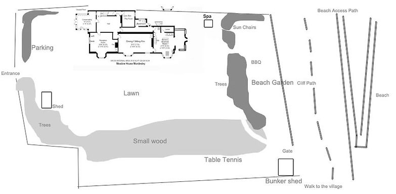 Meadow House Mundesley Plan