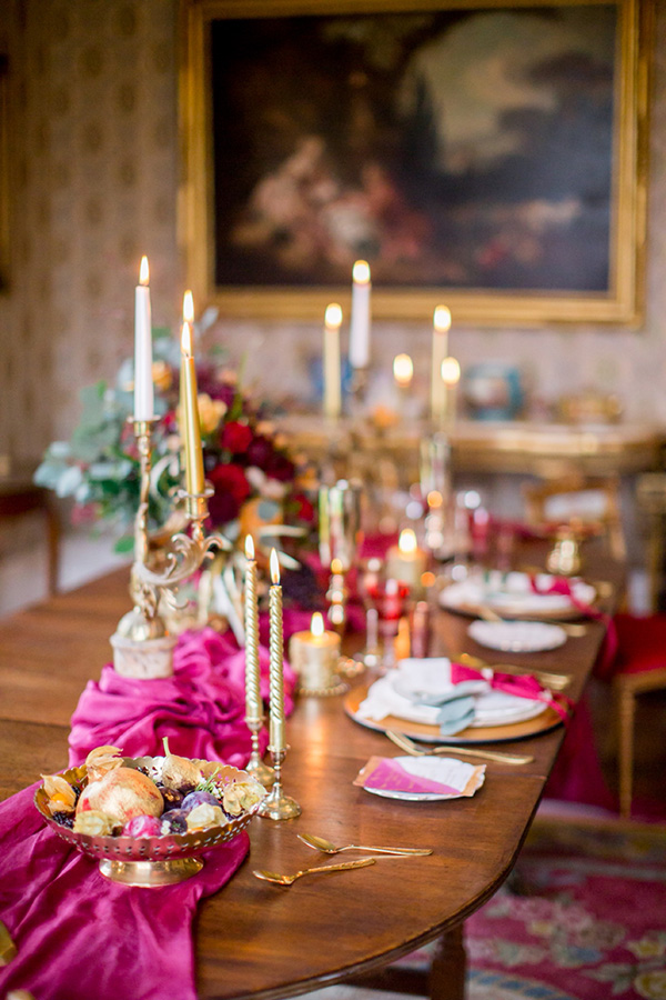 The dining room at Purton House