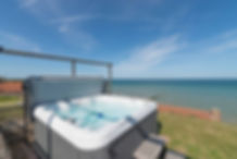 Hot tud norfolk beach house mundesley.jp