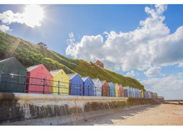 Mundesley beach huts