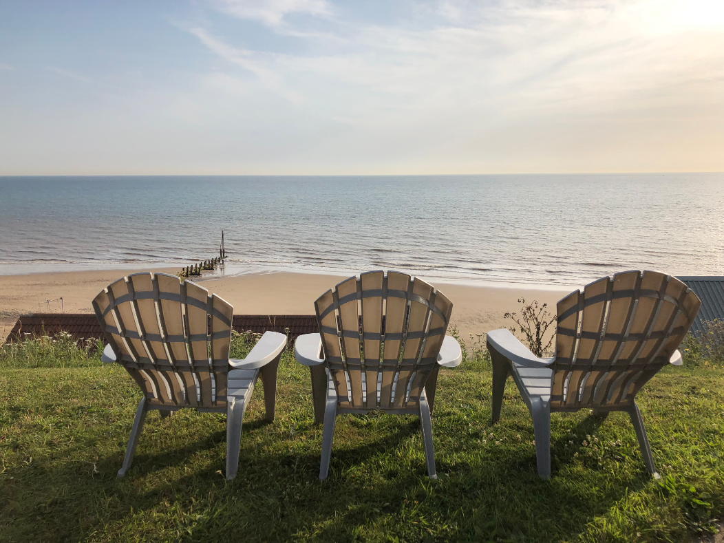 Our stunning sea views