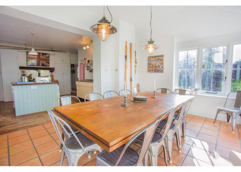 Large kitchen diner for 14