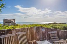 Sea views and beach access