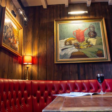 The snug dining room