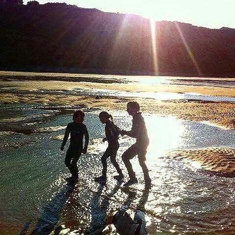 Halcyon days on Mundesley Beach