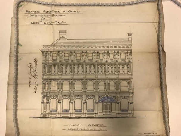 "Plans discovered for ""The Bank"" dating back to 1874"