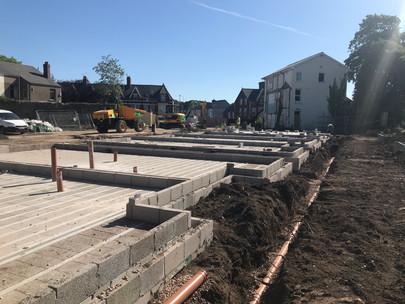 Suffolk House Groundworks Progress Update