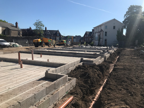 Suffolk House Groundworks Progress Update